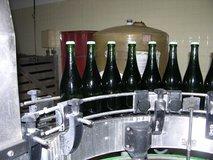 Champagne bottle caps pre disgorgement