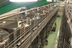 Storage tanks in stainless steel