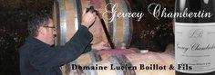 Lucien Boillot sampling the Gevrey-Chambertin