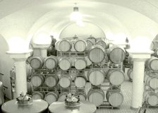 Tanks and barrel aging in the Accordini celler