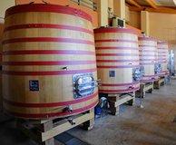 New oak (2014) barrel tanks