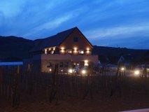 Newly built winemaking cellar