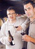 Danny and Sébastien in the Cellar
