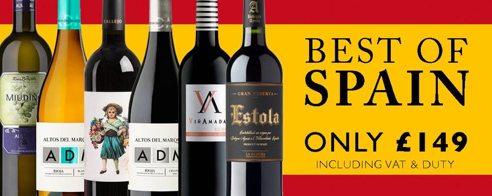 A wonderful case of 12 outstanding Spanish wines, made up …