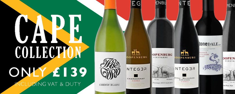 A mixed case of 12 fantastic South-African wines, featuring the …