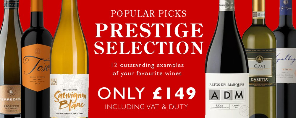 Our Prestige Selection is a mixed case to behold. We've …