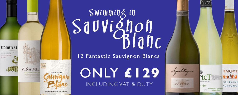 A superb collection of white wines, plus a sparkling wine, …