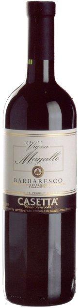 Barbaresco Vigna Magallo, Single Vineyard Treiso, Piemonte, Italy, Fratelli Casetta