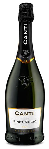 Canti Pinot Grigio Brut, Sparkling NV, Canti