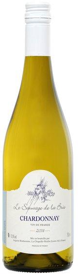 Chardonnay Le Sauvage de la Brie VDF, Vin de France, Orchidees Maisons de Vin