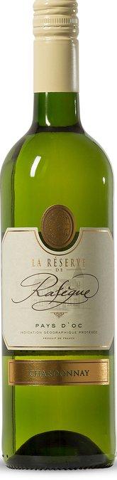 La Reserve de Rafegue Chardonnay, IGP Pays d'Oc, La Réserve de Rafègue