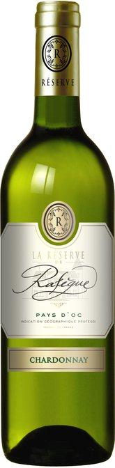La Réserve de Rafègue Chardonnay, IGP Pays d'Oc, La Réserve de Rafègue