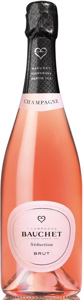 Bauchet 'Seduction' Rose Brut, , Champagne Bauchet