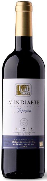 Rioja Reserva, Mindiarte, Bodegas Sonsierra