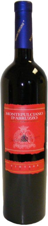 Montepulciano D'Abruzzo DOC, Collection  Marchesini, Casa Sant Orsola