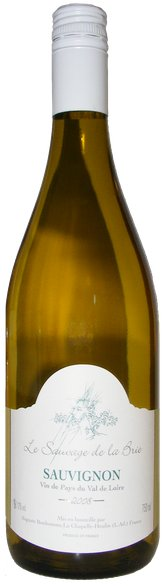 Le Sauvage de la Brie - Sauvignon VDF, Vin de Pays du Val de Loire, Domaine Auguste Bonhomme